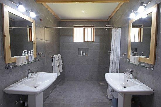 Very spacious bathroom inside Jasmine Suite.