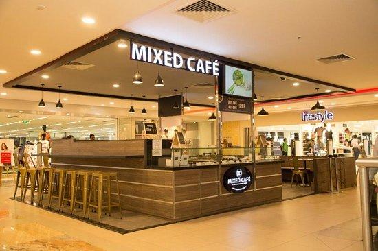 Facade of Mixed Cafe