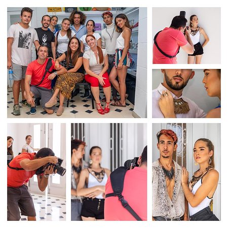 @sborgesdesign en sesión de fotografía colaborando con la @efchabana para el concurso #HabanaEsNombreDeMujer 🤩