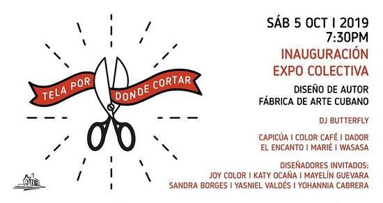 """Exposición """"Tela por donde cortar"""" en FAC"""