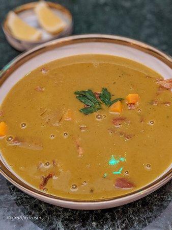 Salama's Oriental Red Lentil Soup
