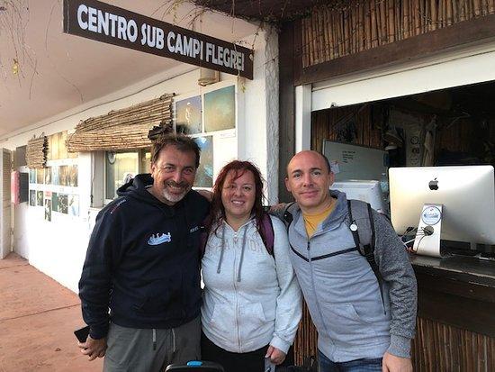 Pozzuoli, İtalya: Enzo Valeria e Manu