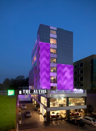 The Altius A Boutique Hotel offers matchless indulgence for the modern traveler with Hip interio