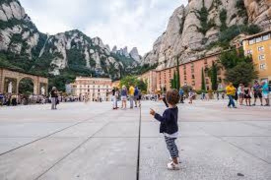 Montserrat Monastery with Cava Wine Tasting Small Group Tour from Barcelona: selfie
