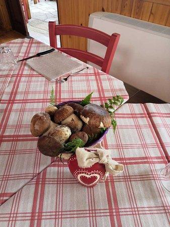 Da noi… trovate deliziosi piatti ai funghi porcini