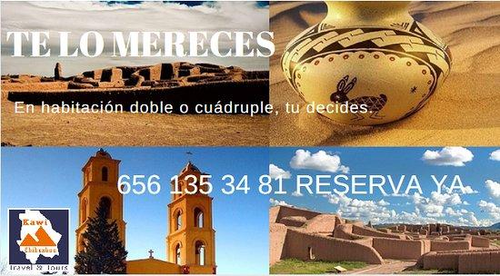 Nuevo Casas Grandes, Meksiko: RESERVA YA