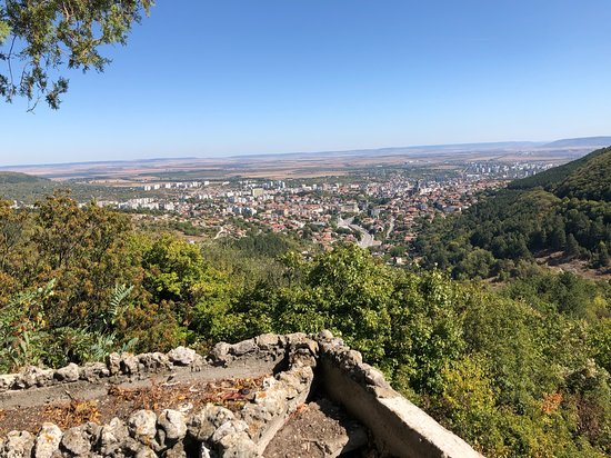 view from Shumen Fortress