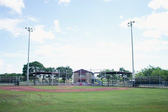 Baseball Field in Arthur Sears Park in Abilene Texas