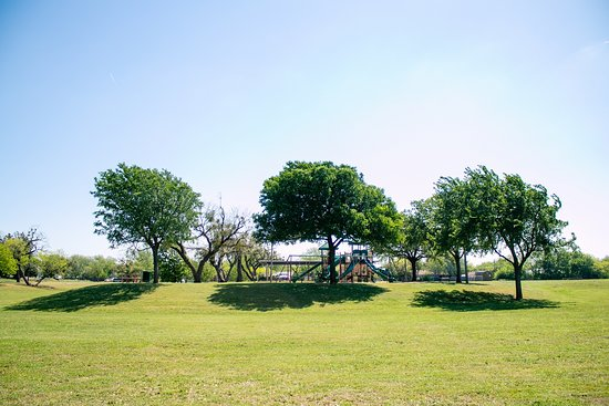 open field in C. W. Gill Park in Abilene Texas