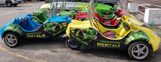 Indian Shores, FL: Scoot Coupes!