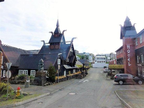 Buildings in Norsemen style