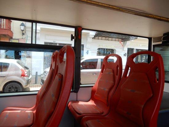 City Tour Hop On Hop Off Cartagena - Bus Turistico de 2 pisos: Asientos cómodos