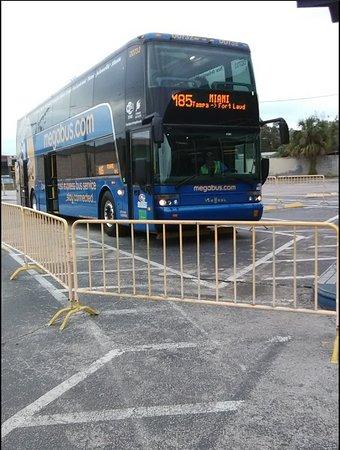 Megabus Florida - outside