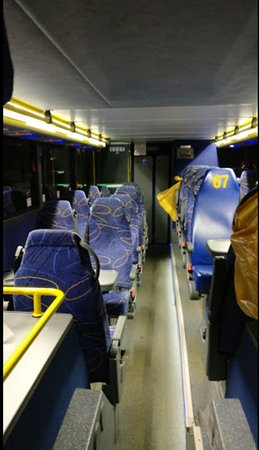 Megabus Florida - inside