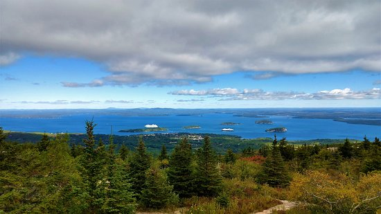 Narrated Bus Tour of Bar Harbor and Acadia National Park (Classic - 2.5 Hours): View from Cadillac Mtn.