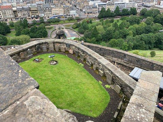 Edinburgh Castle Entrance Ticket: nice views