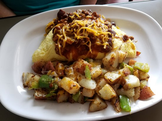 Chili Cheese Omelette  $11.75