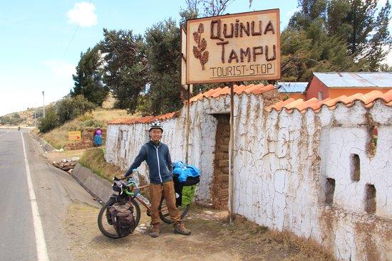 Juli, Peru: Colegas ciclistas, siempre son bienvenidos.
