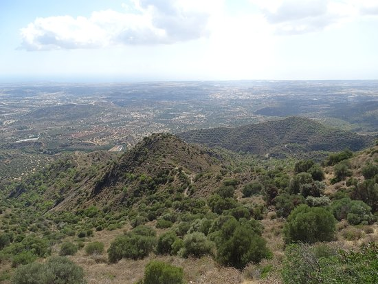 Pyrga, Cyprus: Partial view from the top
