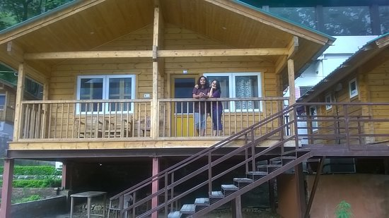 Beautiful GMVN Cottages at Kaudiyala. It is best place for river rafting.There are various options available for rafting.
