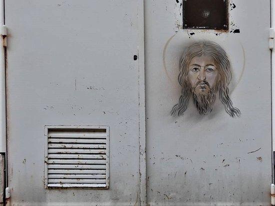 """Fresque """"Le Christ"""""""