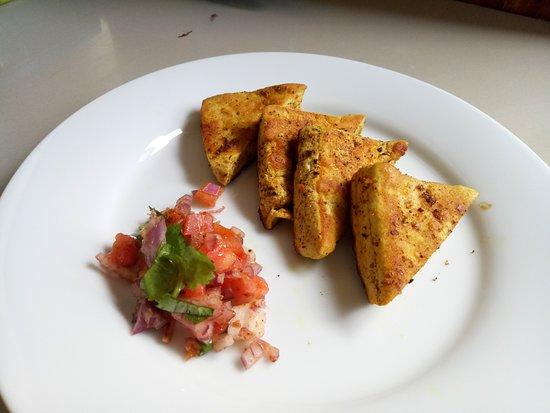 Masala Grilled Tofu