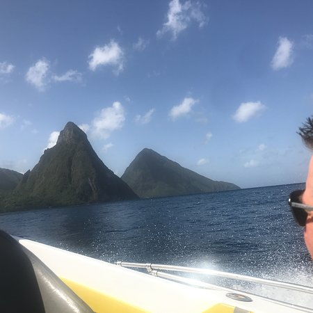 Explore the island-The Pitons were the highlight!