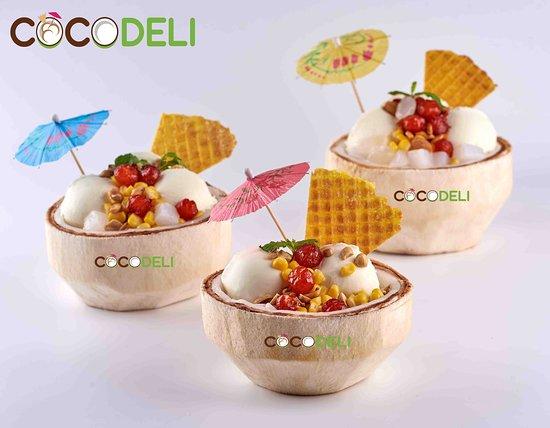 CocoDeli signature coconut ice cream