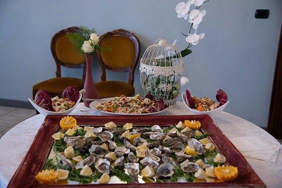 Gran buffet Welcome Wedding