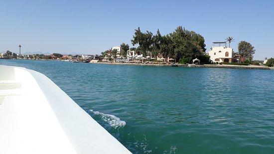 Al-Džuna, Egypt: Kanaal rondvaart