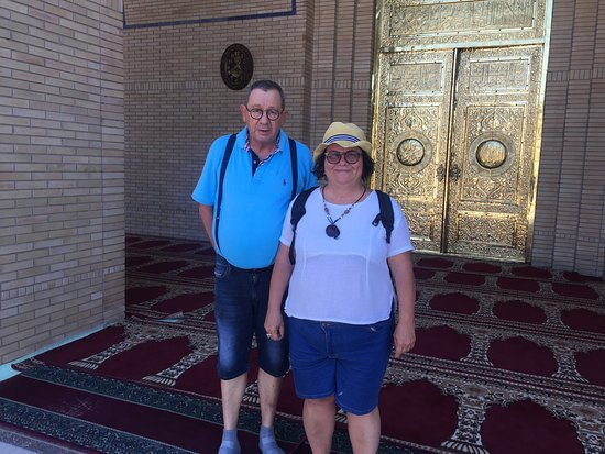Margilan, Usbekistan: Kapıda