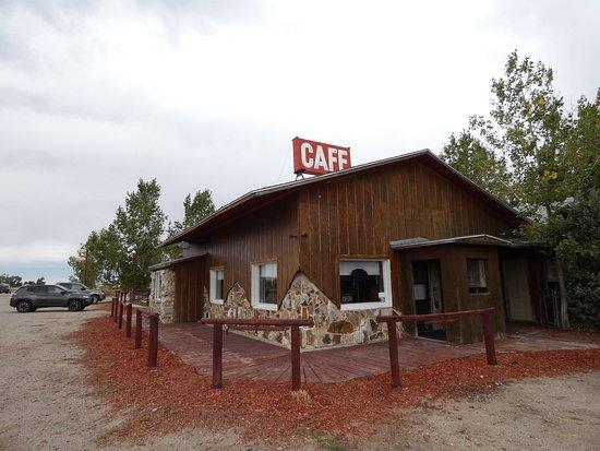 Farson, WY: L'arrière du restaurant.