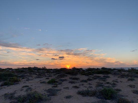 Sunset at Sal Salis