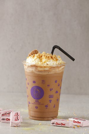 Throwback Drink! Its our Mr. Chocnut Chocolate Frappe.