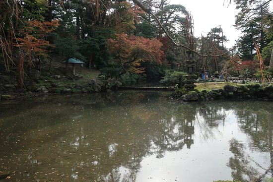 古色あふれる池だ
