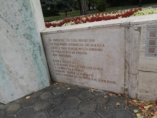 Socha Franza Lehára