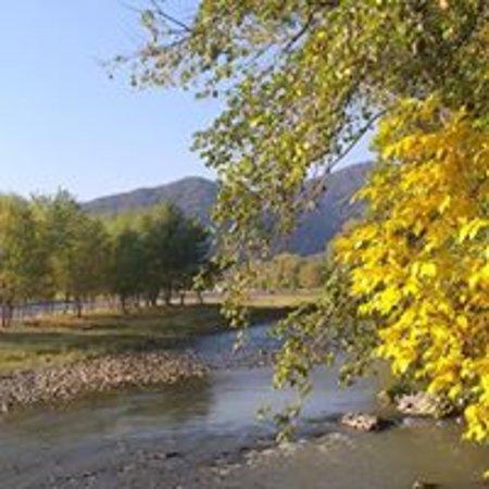Khashuri, Georgië: along Mtkvari river