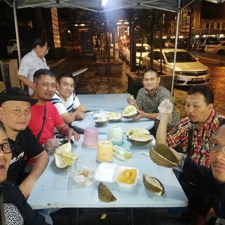 Musang King fest with Guest from Indonesia Tq for giving the opportunity to be PERSONAL driver for 3 days