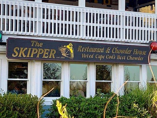 Skipper Chowder House: Skipper's Signage & Front