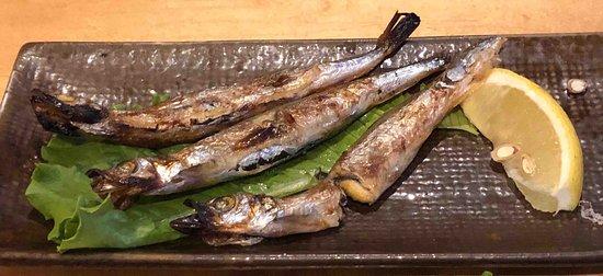 Shishamo - grilled capelin