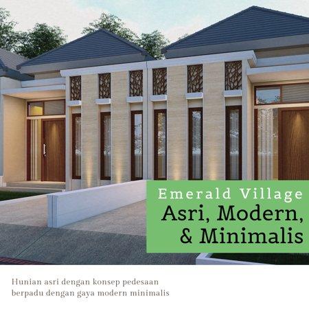 Emerald Village Gedangan adalah salah satu hunian modern minimalis yang sangat cocok bagi anda yang ingin mempunyai rumah minimalis 2 lantai di daerah yang tidak jauh dari surabaya dan kota sidoarjo, rumah yang ditawarkan ialah rumah modern minimalis dengan konsep tren baru di tahun 2019 ini