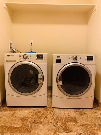 Townhome Suite In Room Laundry Room