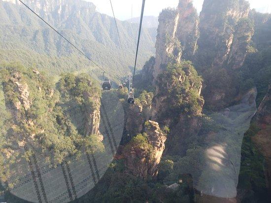 "Zhangjiajie, the park with the ""Avatar"" Mountains, so beautiful"