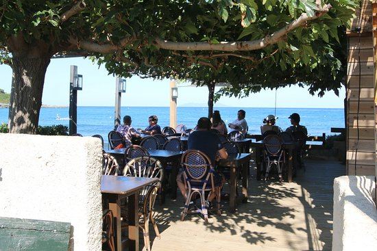 Pietracorbara, Frankrike: Vue de ce restaurant