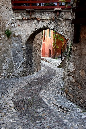All sorts of winding cobbled streets to explore wherever you go