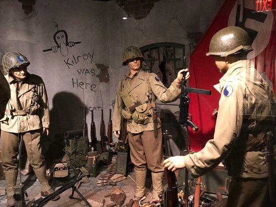 World WAR II scene