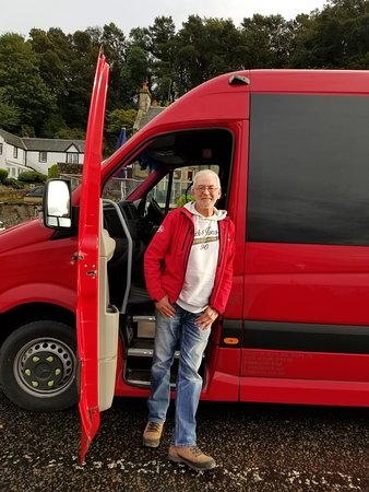2-Day Inverness and the Highlands Small Group Tour from Edinburgh: The Wee Red Bus - with Alan (our guide).