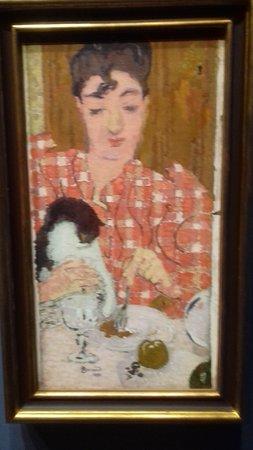 Pierre Bonnard - Le corsage à carreaux