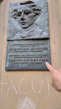 Commemorative Plaque Christian Doppler