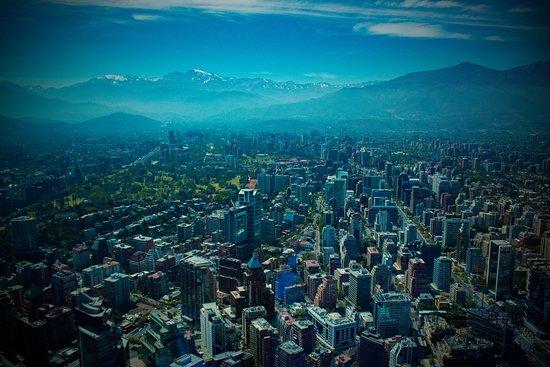 Ohne Anstehen: Sky Costanera-Eintrittskarte: Santiago desde Sky Costanera